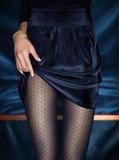 Kunert panty fijn ruitjespatroon zwart (347210)_6