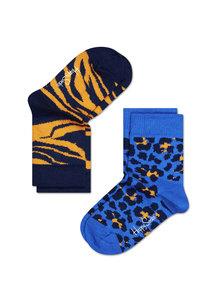 2-pack leopard van Happy Socks typeKLE02-605