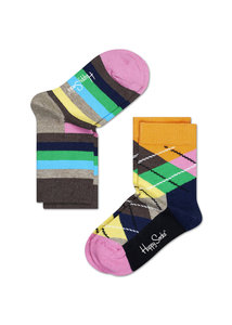2-pack argyle van Happy Socks type KAR02-401