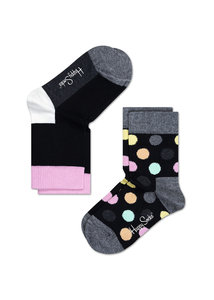 2-pack big dot van Happy Socks type KBD02-901